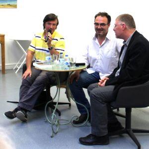 Benoît Séverac, Deon Meyer et Jean-Marc Laherrère Ombres Blanches 2015