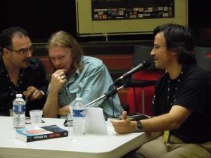 Benoît Séverac, Tim Willocks et Jean-Marce Laherrère, Toulouse Polars du Sud 2013