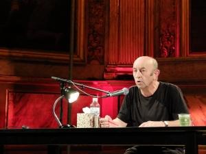 Le comédien François Fehner (crédit photo : Guy Bernot)